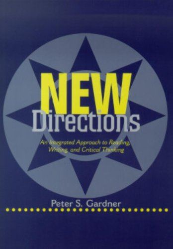 9780521657761: New Directions: An Integrated Approach to Reading, Writing, and Critical Thinking