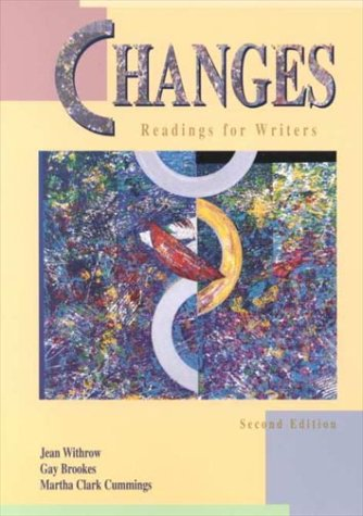 Changes: Readings for Writers: Jean Withrow, Gay