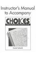 9780521657921: Choices Instructor's Manual: Writing Projects for Students of ESL