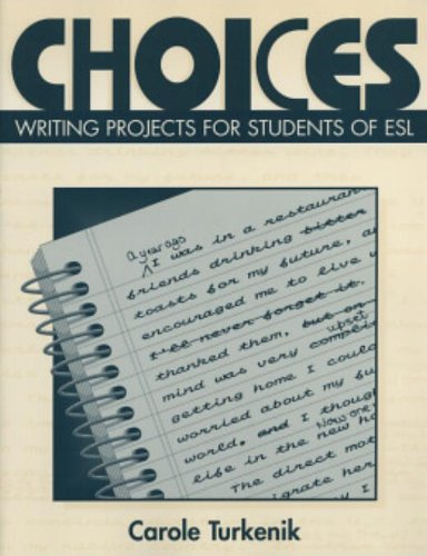 9780521657938: Choices: Writing Projects for Students of ESL
