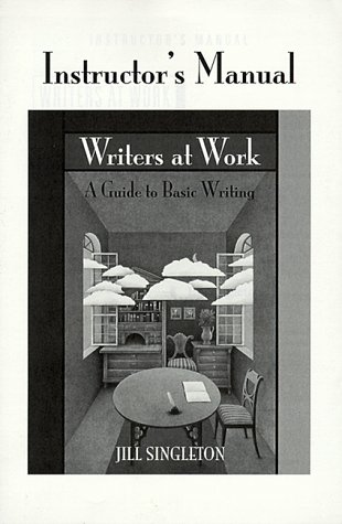 9780521658010: Writers at Work Instructor's Manual: A Guide to Basic Writing