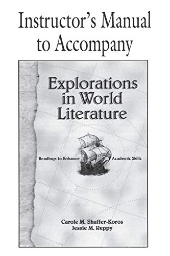 9780521658034: Explorations in World Literature Instructor's Manual: Readings to Enhance Academic Skills