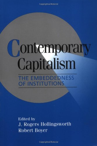 9780521658065: Contemporary Capitalism: The Embeddedness of Institutions (Cambridge Studies in Comparative Politics)