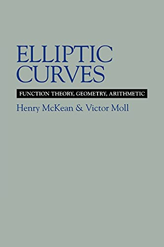 9780521658171: Elliptic Curves Paperback: Function Theory, Geometry, Arithmetic
