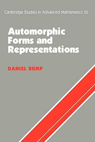 9780521658188: Automorphic Forms & Representations (Cambridge Studies in Advanced Mathematics)
