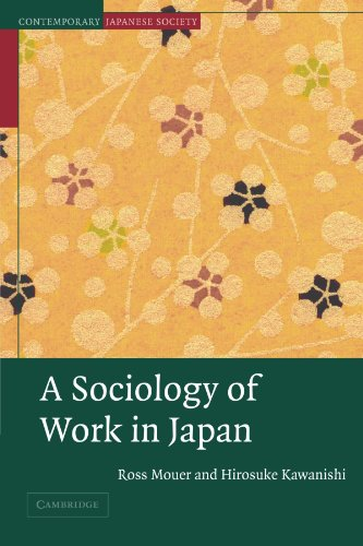 9780521658454: A Sociology of Work in Japan Paperback (Contemporary Japanese Society)