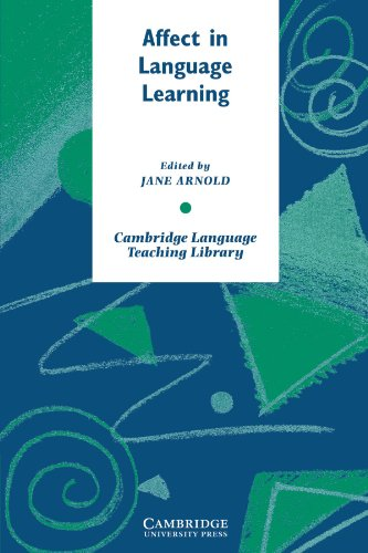 9780521659635: Affect in Language Learning Paperback (Cambridge Language Teaching Library)