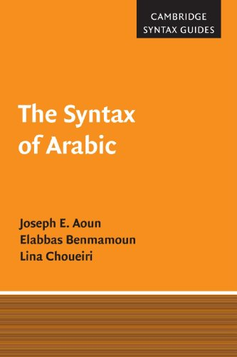 9780521659864: The Syntax of Arabic Paperback (Cambridge Syntax Guides)