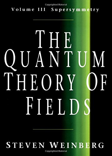 9780521660006: The Quantum Theory of Fields: Volume 3, Supersymmetry: 003