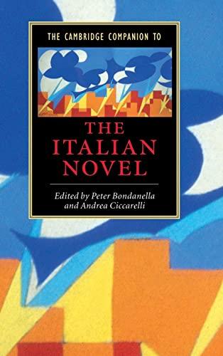 9780521660181: The Cambridge Companion to the Italian Novel