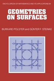 9780521660587: Geometries on Surfaces (Encyclopedia of Mathematics and its Applications)