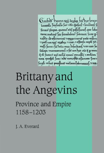 9780521660716: Brittany and the Angevins: Province and Empire 1158-1203 (Cambridge Studies in Medieval Life and Thought: Fourth Series)