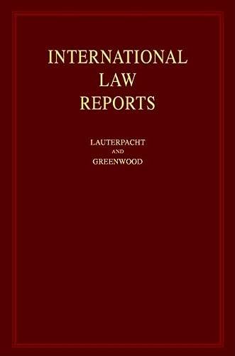 9780521661195: 116: International Law Reports (Volume 116)