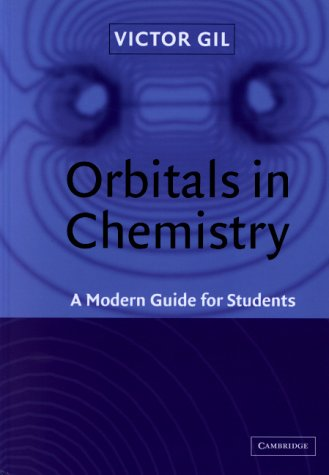 9780521661676: Orbitals in Chemistry: A Modern Guide for Students