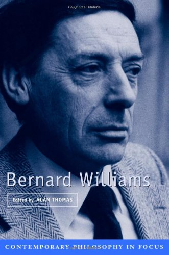 9780521662161: Bernard Williams (Contemporary Philosophy in Focus)