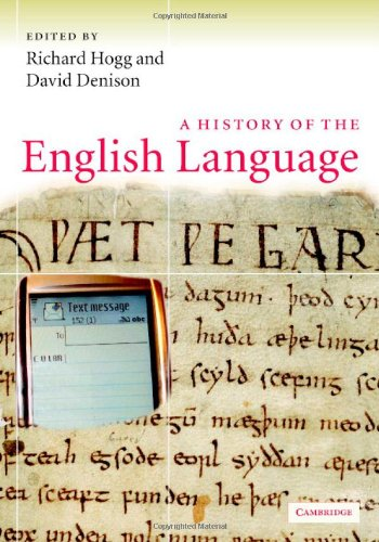 9780521662277: A History of the English Language