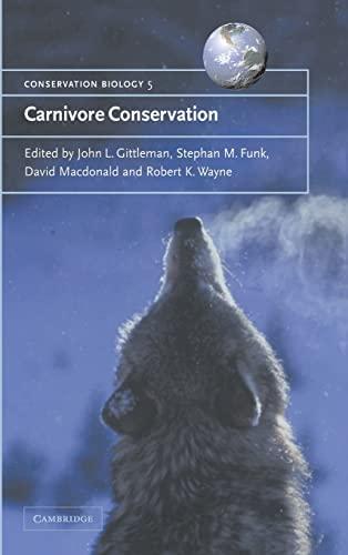 9780521662321: Carnivore Conservation (Conservation Biology)