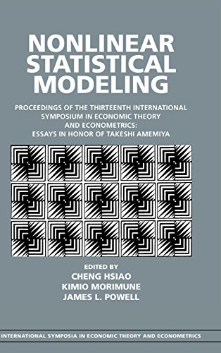 Nonlinear Statistical Modeling: Proceedings of the 13th: ed. Cheng Hsiao,