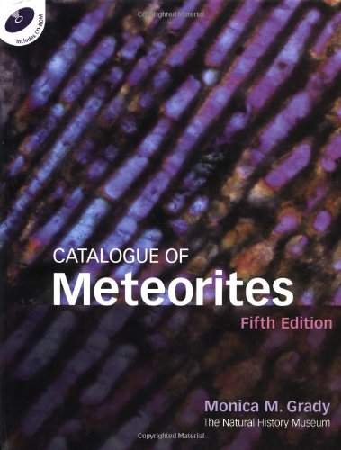 Catalogue of Meteorites Reference Book [With CDROM] (Hardcover): Robert Hutchison