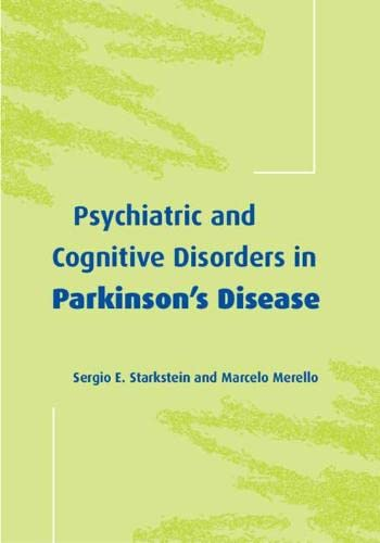 9780521663052: Psychiatric and Cognitive Disorders in Parkinson's Disease (Psychiatry and Medicine)