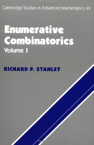 9780521663519: 1: Enumerative Combinatorics: v. 1 (Cambridge Studies in Advanced Mathematics)