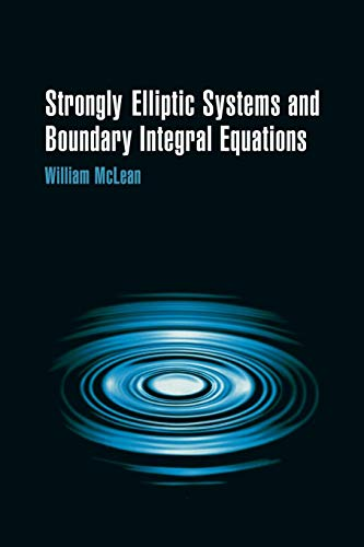 9780521663755: Strongly Elliptic Systems and Boundary Integral Equations Paperback