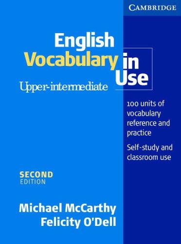9780521664356: English Vocabulary in Use Upper-Intermediate with answers (Vocabulary in Use) (Vocabulary in Use)