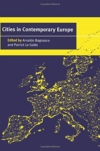 9780521664882: Cities in Contemporary Europe