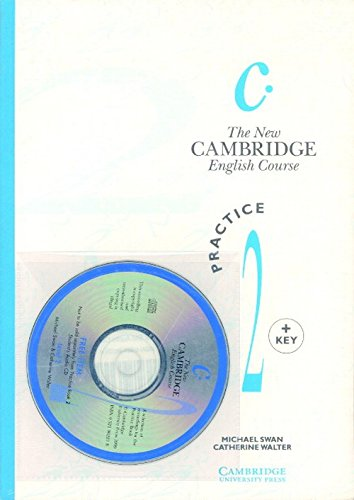 9780521664905: The New Cambridge English Course 2 Practice book with Key plus Audio CD pack