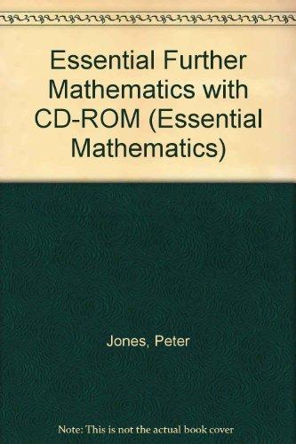9780521665186: Essential Further Mathematics with CD-ROM (Essential Mathematics)