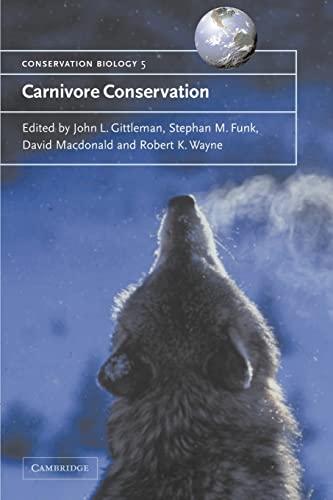 9780521665377: Carnivore Conservation (Conservation Biology)