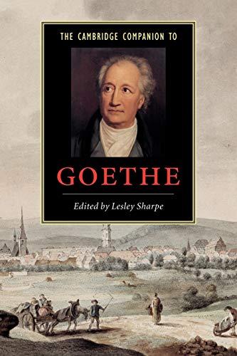 The Cambridge Companion to Goethe: Sharpe