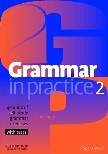 9780521665667: Grammar in Practice 2