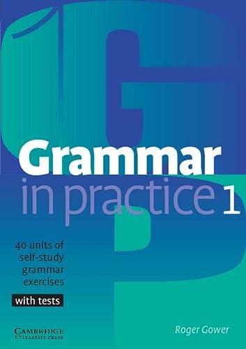 9780521665766: Grammar in Practice 1