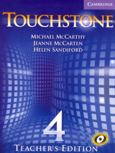 9780521665919: Touchstone Teacher's Edition 4 with Audio CD