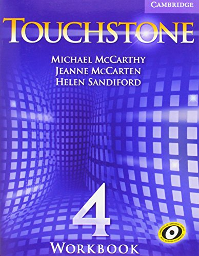 9780521665926: Touchstone  4 Workbook