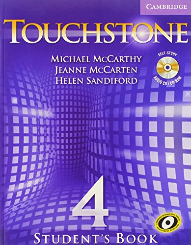 9780521665933: Touchstone Level 4 Student's Book with Audio CD/CD-ROM (Touchstones)