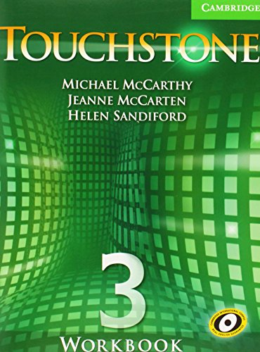 9780521665988: Touchstone  3 Workbook