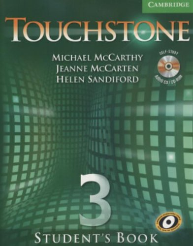 9780521665995: Touchstone  3 Student's Book with Audio CD/CD-ROM