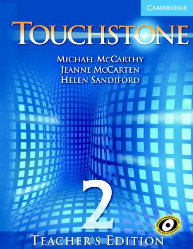 9780521666039: Touchstone Teacher's Edition 2 Teachers Book with Audio CD (Touchstones)