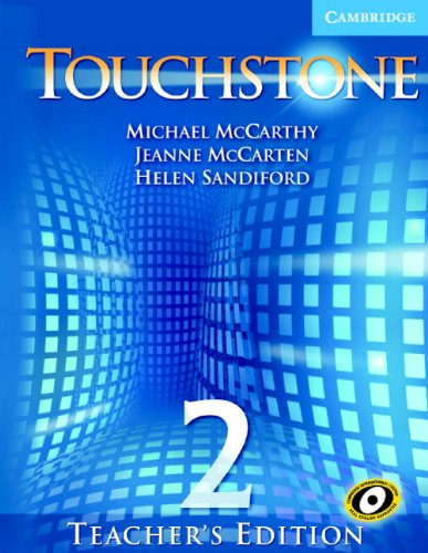 9780521666039: Touchstone Teacher's Edition 2 Teachers Book with Audio CD