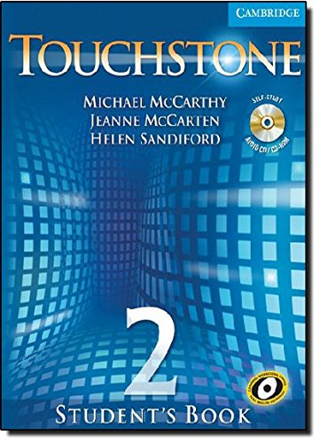 9780521666053: Touchstone  2 Student's Book with Audio CD/CD-ROM