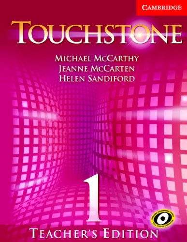 9780521666091: Touchstone Teacher's Edition 1 Teachers Book 1 with Audio CD (Touchstones)