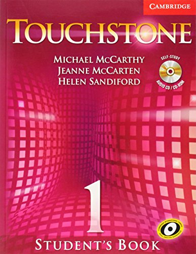 9780521666114: Touchstone 1 Student's Book with Audio CD/CD-ROM