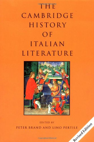 9780521666220: The Cambridge History of Italian Literature