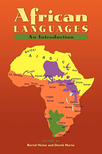 9780521666299: African Languages: An Introduction