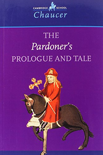9780521666459: The Pardoner's Prologue and Tale (Cambridge School Chaucer)