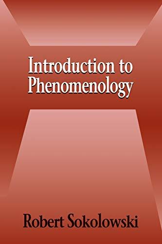 9780521667920: Introduction to Phenomenology