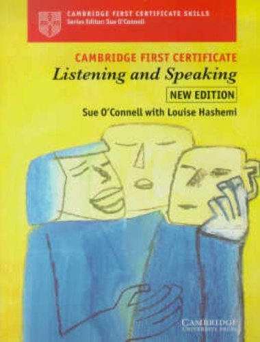 9780521668088: Cambridge First Certificate Listening and Speaking Student's book
