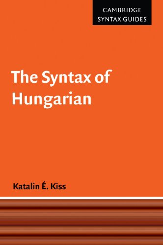 9780521669399: The Syntax of Hungarian Paperback (Cambridge Syntax Guides)